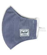 Herschel Supply Co. Classic Fitted Face Mask Peacoat Engineered Stripe