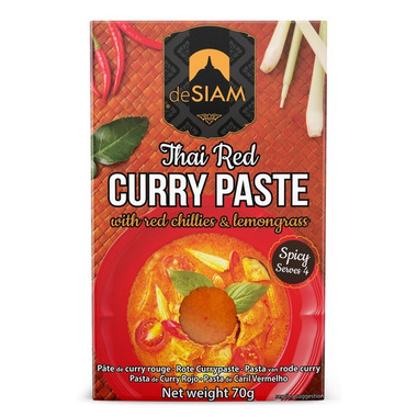 DeSiam Red Curry Paste