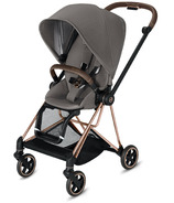Cybex Mios Rose Gold Frame with Manhattan Grey Seat Pack
