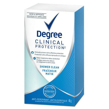 Degree Women Clinical Protection Shower Clean Anti-Perspirant Stick