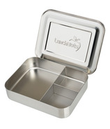 LunchBots Trio Bento Stainless Steel