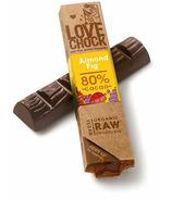 Lovechock Almond and Fig Raw Organic Chocolate Bar