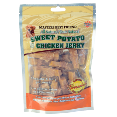Masters Best Friend Sweet Potato & Chicken Jerky