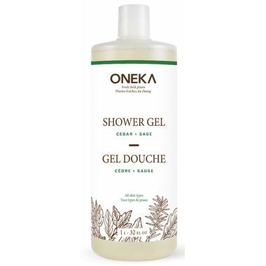Oneka Cedar & Sage Shower Gel Large