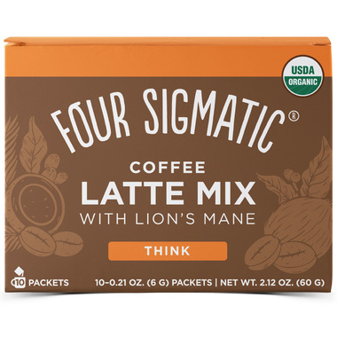 Four Sigmatic Coffee Latte Mix with Lion\'s Mane