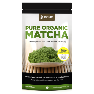 Domo Pure Organic Matcha Stone Ground Tea