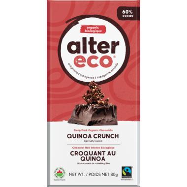 Alter Eco Dark Organic Choclate Quinoa