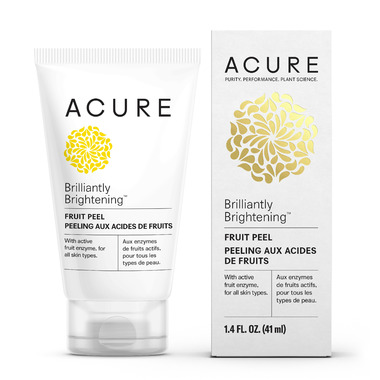 Acure Brilliantly Brightening Fruit Peel