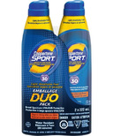 Coppertone Sport Continuous Spray SPF 30 Duo
