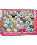 EuroGraphics Tea Cup Collection Puzzle