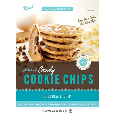 HannahMax Crunchy Cookie Chips Chocolate Chip