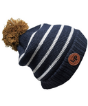L&P Apparel Aspen Winter Hat Navy & Grey