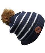 L&P Apparel Aspen Winter Hat Navy & Grey