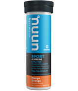 Nuun Hydration Sport + Caffeine Mango Orange