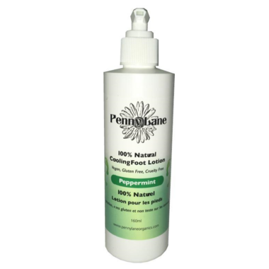 Penny Lane Organics Cooling Foot Lotion Peppermint