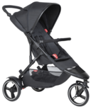phil&teds Dot Buggy + Liner Black