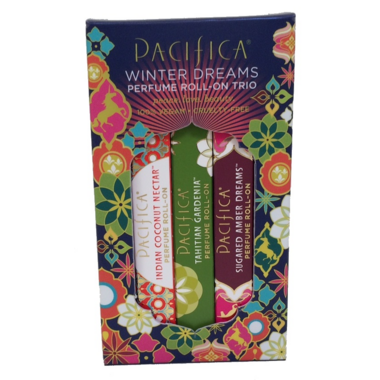 Pacifica Winter Dreams Parfume Roll on Trio