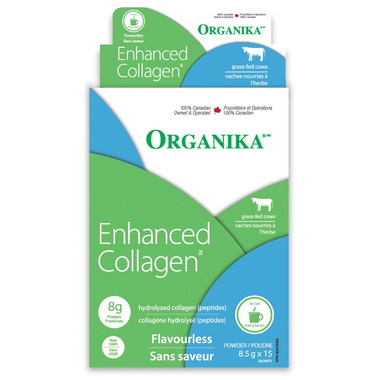 Organika Enhanced Collagen Protein Powder Sticks