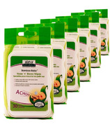 Aleva Naturals Bamboo Baby Nose n' Blows Wipes 5 + 1 Pack