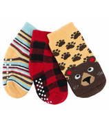 ZOOCCHINI Buddy Baby Sock Set Bosley Bear