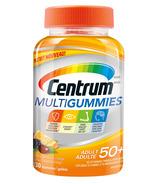 Centrum MultiGummies pour les adultes de 50 ans et plus