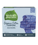 Seventh Generation Organic Cotton Tampons Regular