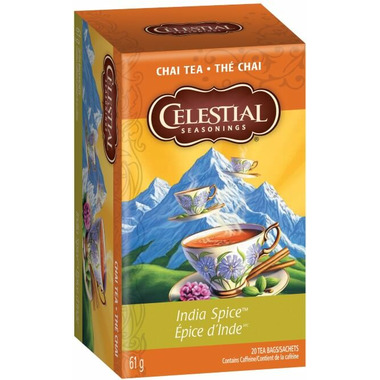 Celestial Seasonings Original India Spice Chai Tea