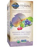 Garden of Life mykind Organics Multivitamin Prenatal Once Daily