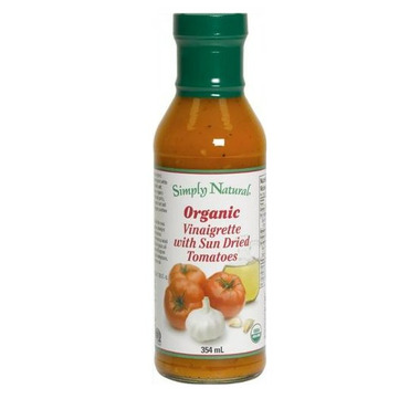 Simply Natural Organic Sun Dried Tomatoes Vinaigrette Dressing