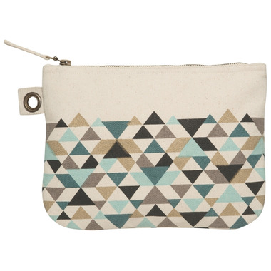 DanicaStudio Zip Pouch Large Tessellate