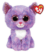Ty Beanie Boos Cassidy Lavender Cat