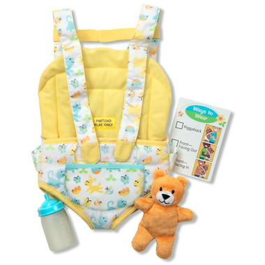 Melissa & Doug Mine to Love Carrier Play Set for Baby Dolls