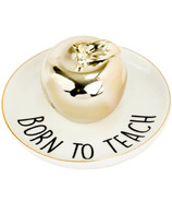 Eccolo Trinket Tray Gold Apple