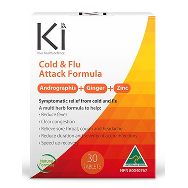 Martin & Pleasance Ki Cold & Flu Attack Formula