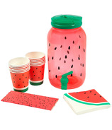 Sunnylife Drink Dispenser Party Kit Watermelon