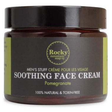 Rocky Mountain Soap Co. Men\'s Soothing Face Cream