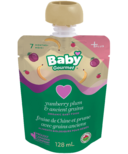 Baby Gourmet Plus Yumberry Plum and Ancient Grains Organic Baby Food