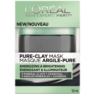 L\'Oreal Energizing & Brightening Pure Clay Mask