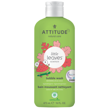 ATTITUDE Little Leaves Bubble Bath Watermelon & Coconut