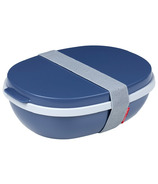 Mepal Ellipse Duo Lunchbox Nordic Denim