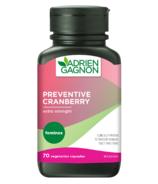 Adrien Gagnon Feminex Preventive Cranberry