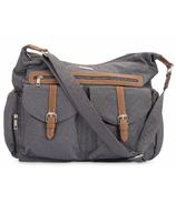 Little Unicorn Rambler Satchel Grey