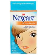 Timbres absorbants Nexcare pour l'acné