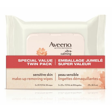 Aveeno Sensitive Skin Make-up Removing Wipes