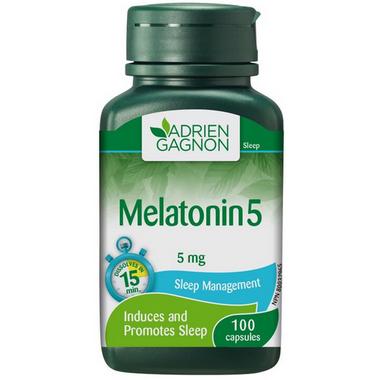 Adrien Gagnon Melatonin 5 mg