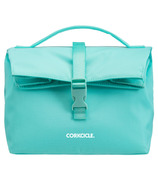 Corkcicle Nona Roll-Top Lunchbag Turquoise