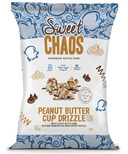 Sweet Chaos Peanut Butter Cup Drizzle Popcorn