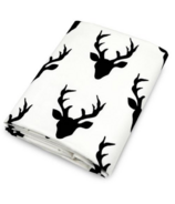 OLLI + LIME Deer Fitted Crib Sheet