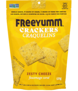 FreeYumm Zesty Cheeze Crackers