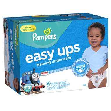 Pampers Easy Ups Boys Super Pack